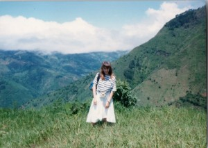 This is me in the mountains of Costa Rica when I was 16 years old